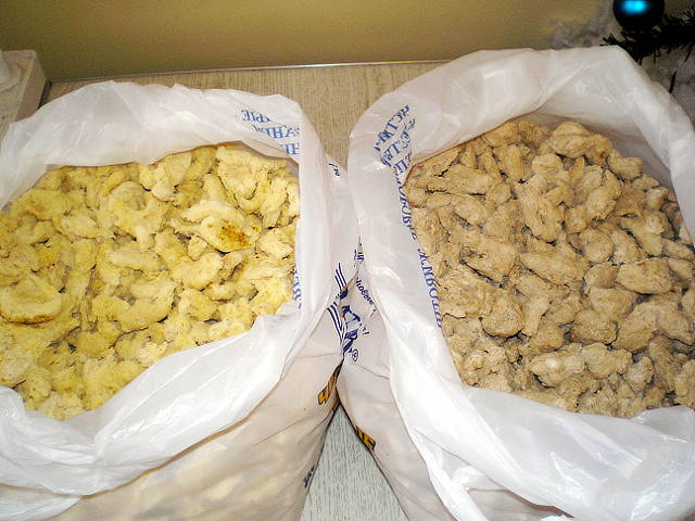 Кукуруза и пшеница экструдированные, поступившие на анализ