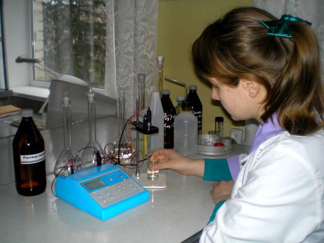 Определение содержания нитратов в воде ионометрическим методом. Агрохимик I категории — Токарева Е.В.