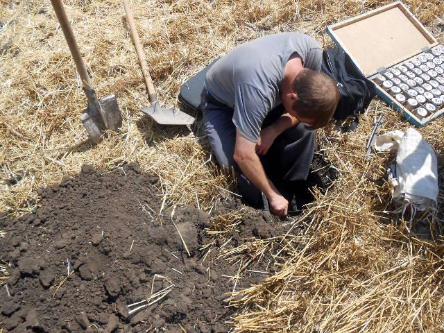 Определение плотности почвы - ФГБУ ГЦАС «Ставропольский». Гл. почвовед Чернов В.А.