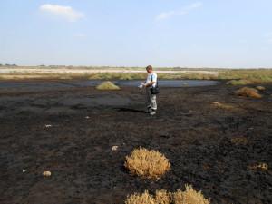 Рекогносцировочное обследование участков загрязнения нефтью