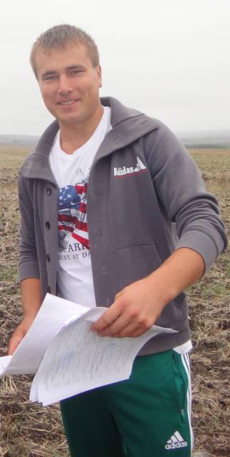 Олейников Александр Юрьевич - ведущий агрохимик ОГТ