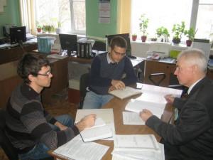 Начальник отдела применения удобрений и опытов Зеленский Н.А. делится опытом с коллегами из Краснодара