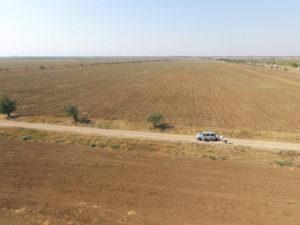 Объезд сельскохозяйственных угодий для оценки их состояния и использования