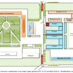 Схема выставки День урожая 2016