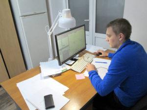 Камеральную обработку материалов осуществляет ведущий инженер по ЦНТГИ Сторчак Е.А.