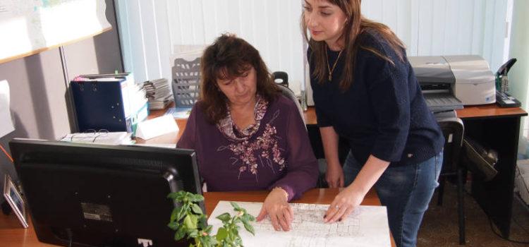 Составление агрохимического паспорта проводят инженеры НТГИ 1 категории Малярчук О.И. и Куксова Е.В.