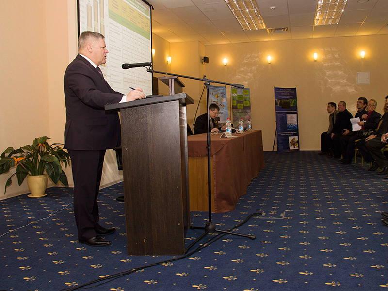 Петр Чекмарев на Всероссийском совещании работников агрохимических служб страны