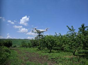 Аэросъёмка с помощью квадрокоптера