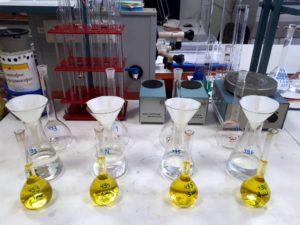 Пробоподготовка сложных удобрений для определения фосфатов