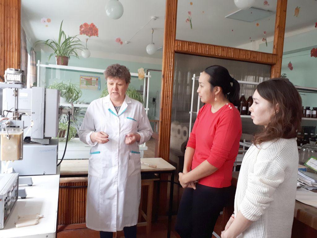 Экскурсия по испытательной лаборатории