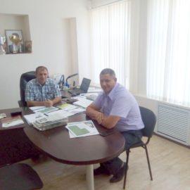 Рабочие визиты в сельскохозяйственные предприятия Ставропольского края
