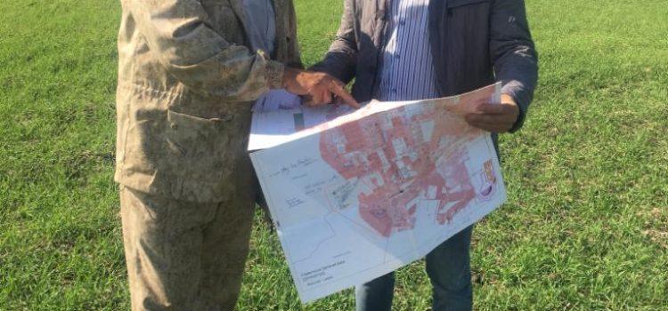 Контроль за проведением агрохимического обследования выполняет Олейников А.Ю.