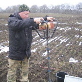Мониторинг запасов влаги в метровом слое почвы Ставропольского края