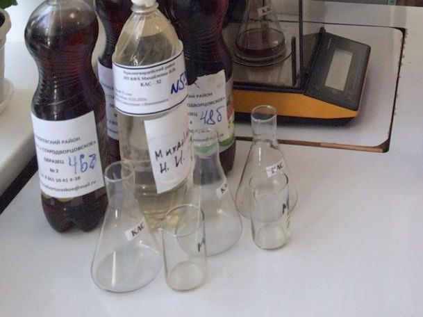 Качество жидких азотных удобрений (КАС)