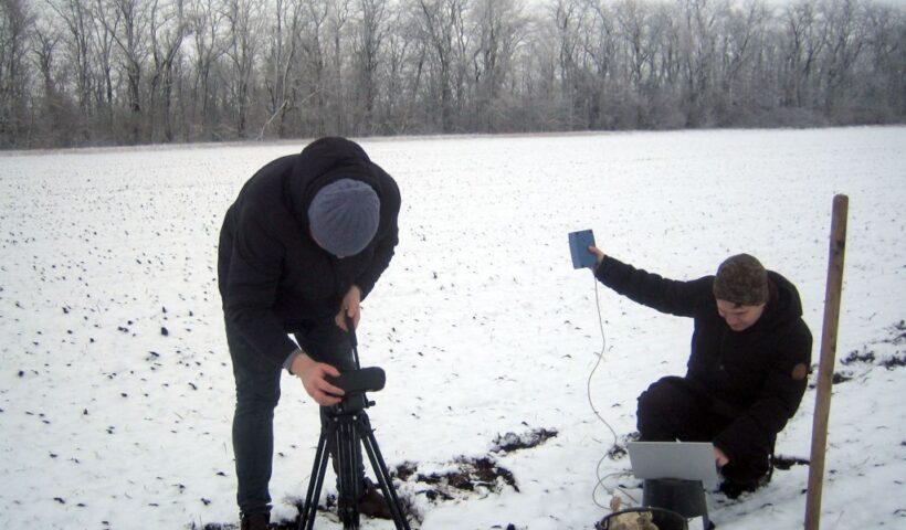 Проведение фенологических наблюдений с помощью спектральной камеры