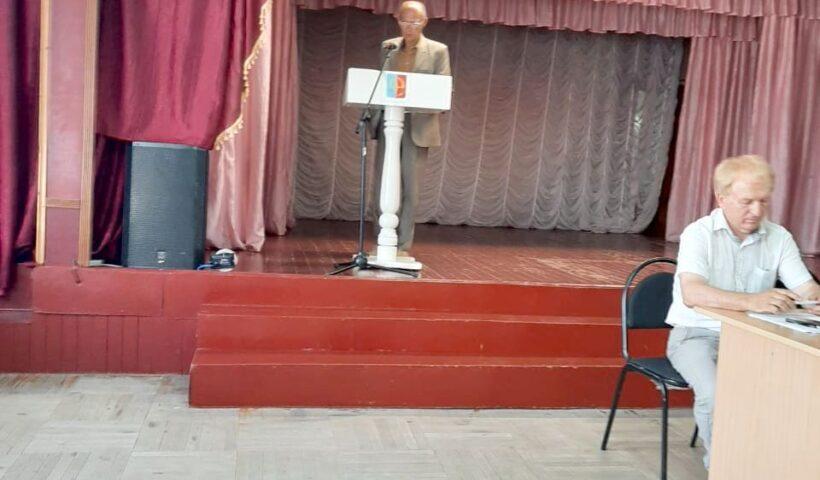 Предуборочное совещание в Андроповском районе