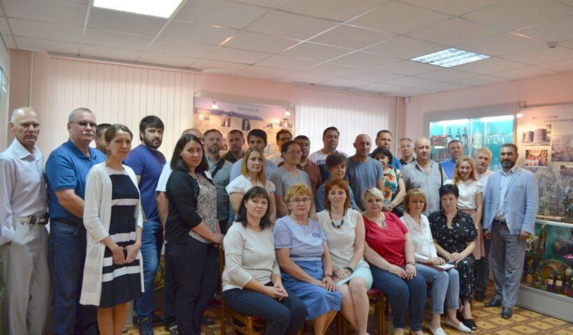 Коллективная фотография участников совещания