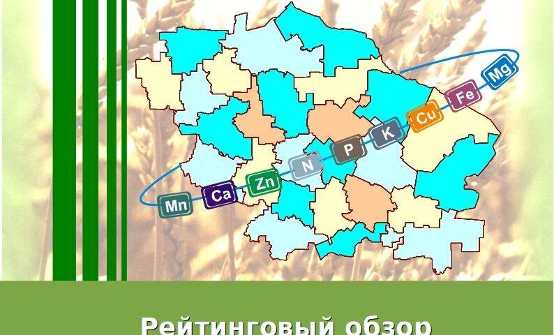 Рейтинговый обзор применения удобрений в районах Ставропольского края под урожай 2020 года