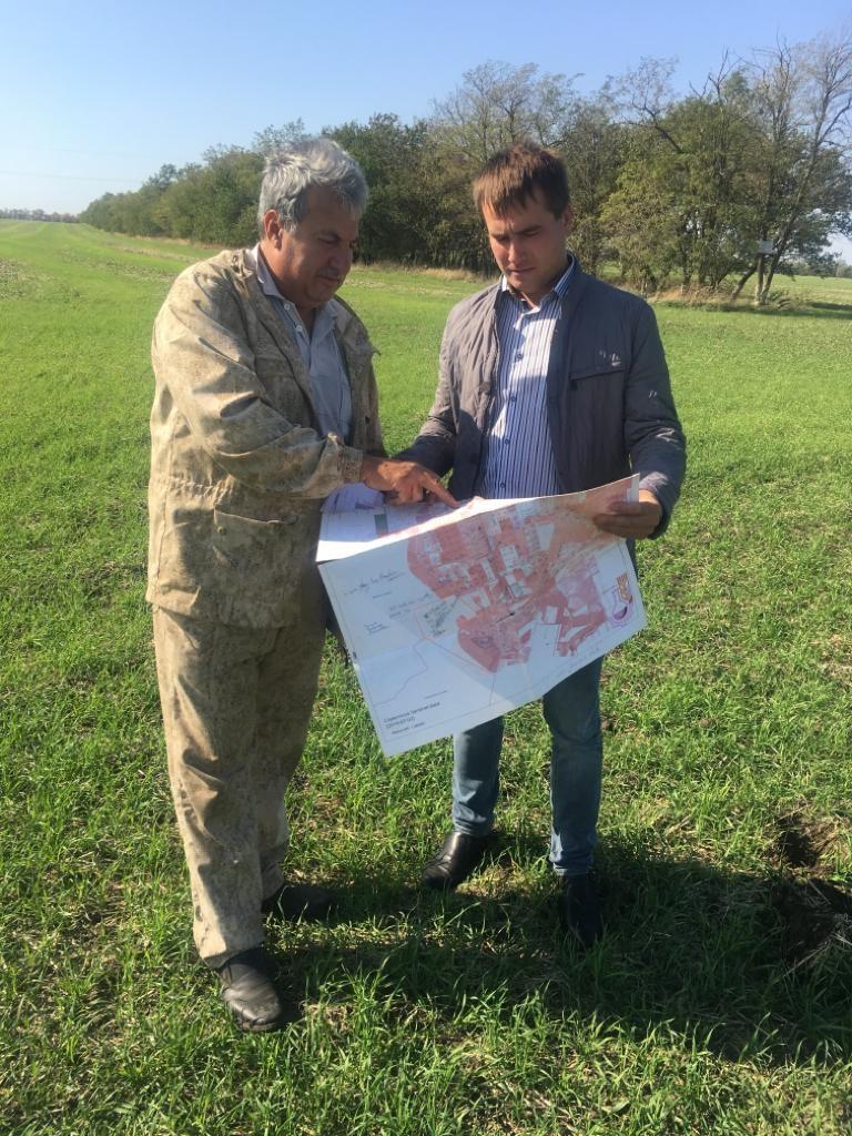 Контроль за проведением агрохимического обследования выполняет ОлейниковА.Ю.