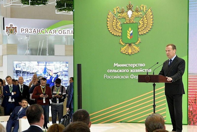 Председатель Правительства Российской Федерации Дмитрий Медведев на торжественном открытии